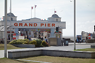 Grand Pier entrance at Weston-super-Mare