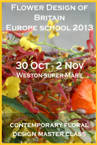 Europe school, contemporary floral design master class