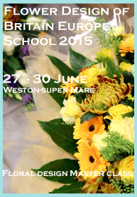 Europe school 2015 Contemporary floral design course