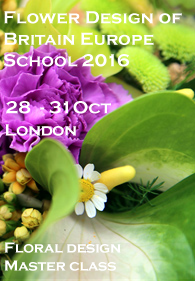 Flower Design of Britain Europe School 2016 London